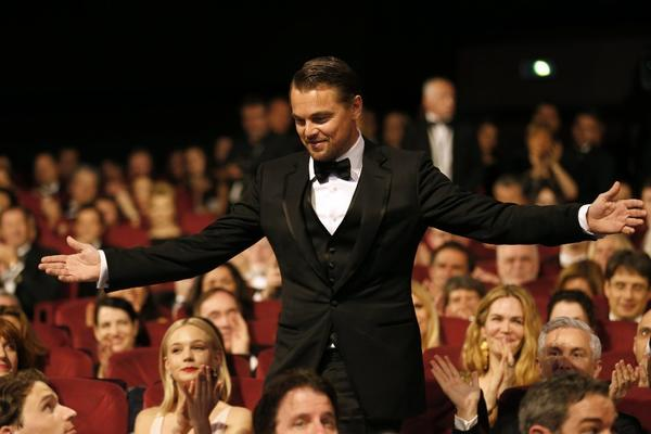Leonardo DiCaprio at the Cannes Film Festival