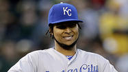 KANSAS CITY, Mo. — Ervin Santana will make his first-ever start against the Angels on Thursday night when the Kansas City Royals right-hander faces his ex-teammates in Kauffman Stadium.