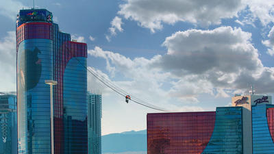 Las Vegas: New thrill ride to zip guests between Rio towers