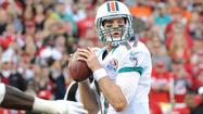 DAVIE — The ball was firing out Ryan Tannehill's hands as if he were playing a game of hot potato.