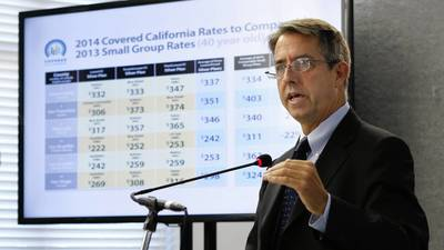 New California health insurance rates unveiled