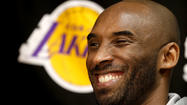 Kobe Bryant was named to his 11th All-NBA first team Thursday, joining LeBron James, Kevin Durant, Tim Duncan and Chris Paul for the 2012-13 season.