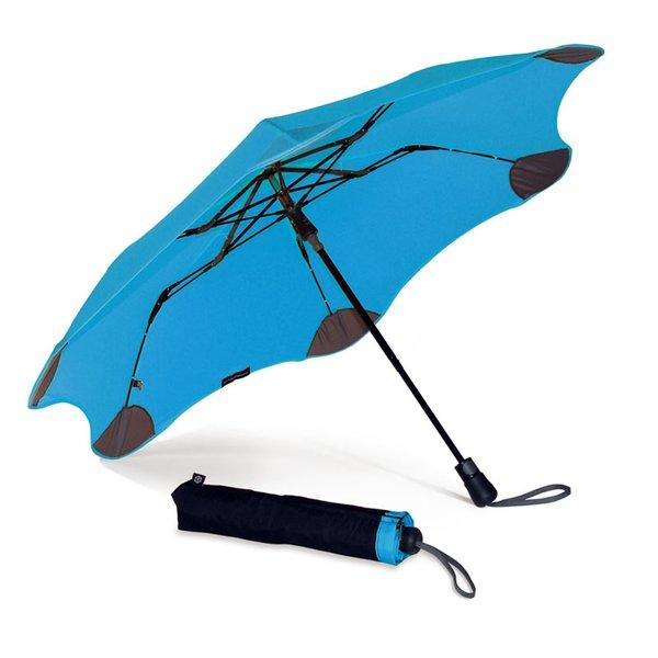 Think of the Blunt as the Humvee of travel umbrellas.