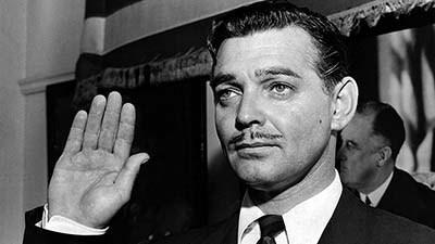 From the Archive: Clark Gable joins the Army