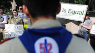 In an emotionally charged vote Thursday, the Boy Scouts of America lifted its ban on gay youth starting in January, the latest sign of a shift in American attitudes toward gays and lesbians.