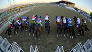 Santa Anita came away the big winner Thursday when the California Horse Racing Board tentatively approved racing dates for 2014 and 2015 in response to the pending closure of Betfair Hollywood Park on Dec. 22.