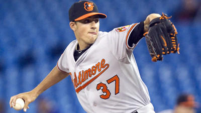 Kevin Gausman shows flashes in debut, but Orioles fall to Blue Jays, 12-6