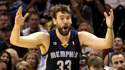 Memphis Grizzlies center Marc Gasol is no longer an afterthought