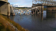 I-5 bridge collapses in NW Wash.; people in water