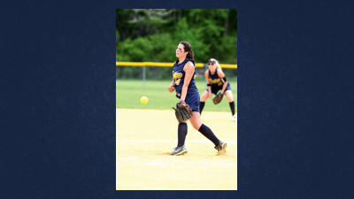Shade pitcher CeCe Corradini allowed two hits in Thursday's District 5 Class A playoff softball game against Meyersdale.