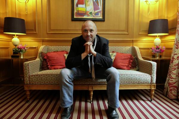 Irish writer Colum McCann in Paris.