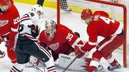 Red Wings push Blackhawks to the brink with Game Four win