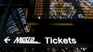 The Metra administrator who oversaw the commuter rail agency's police for the past several years, along with security during the NATO summit, has been removed from that post, the Tribune has learned.