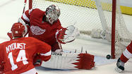 Howard a save machine for Red Wings
