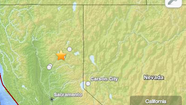 More than a dozen aftershocks were reported Thursday night following a 5.7 earthquake about 150 miles northeast of Sacramento, officials said.
