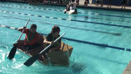 VIDEO: Imperial Valley middle school students use math, science knowledge to build cardboard boats