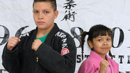 JIU-JITSU SIBLINGS: Brother and sister excel in competition