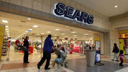 Shares of the Sears Holdings Corp. were down 13 percent to $50.14 in midday trading Friday after the retailer reported a bigger-than-expected quarterly loss Thursday night.