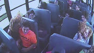 UPDATE: Wawasee bus surveillance video shows crash from the inside