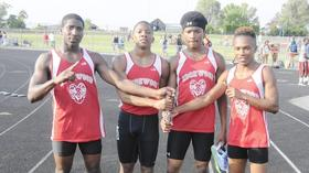 Edgewood boys, Tech girls claim region track crowns