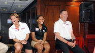 There was a questionable forecast for Thursday night, making an evening boat cruise out of Annapolis an uncertainty for Maryland football coach Randy Edsall and a couple of his counterparts who came from College Park to schmooze with fans over dinner and drinks.