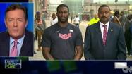 Michael Vick, serving as 'honorary ambassador to Atlantic City, talks about hurricane recovery