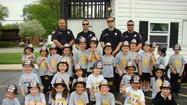 St. Pius X Parish students were visited by members of the Lombard Fire Department and their safety trailer last week.