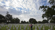 Pictures: Memorial Day Flags