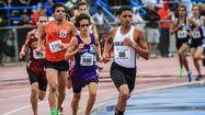 Colonial's Andres Arroyo, who won the 800, 1,600 and 3,200 meters at the Class 4A state track meet in Jacksonville, is the All-Central Florida boys track athlete of the year and leads the all-area team. (Joshua C. Cruey, Orlando Sentinel)