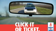 Law enforcement ramps up Click It or Ticket campaign