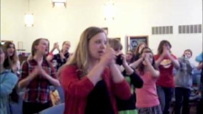 VIDEO: Youth choir rehearsal