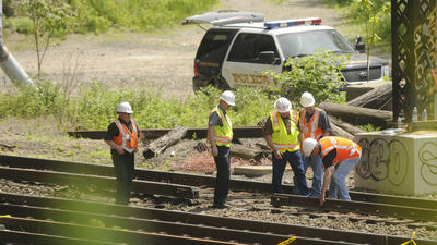 NTSB Focuses On Recently Repaired Equipment In Rail Collision Probe