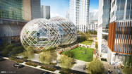 Amazon enters tech's architecture wars with 'plant-rich' building