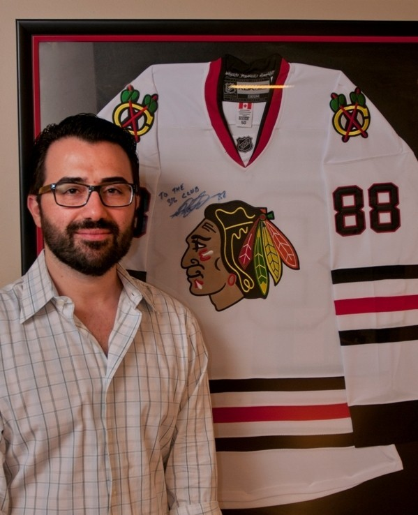Meet Patrick Kane S Mullet Barber Redeye Chicago