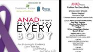 Timberline Knolls and Rago & Associates proudly sponsors Fashion for Every Body, an evening to embrace your beauty, your body and your life benefiting ANAD!