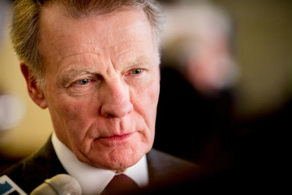 Speaker Michael Madigan, seen here in March, pushed a concealed carry bill through the House today despite objections from Gov. Pat Quinn and Mayor Rahm Emanuel.