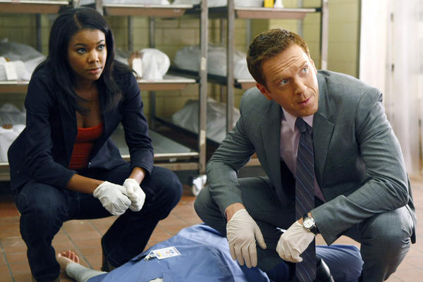 "Gabrielle Union, left, in a scene with Damian Lewis from NBC's ""Life"" in 2009, will star in BET's ""Being Mary Jane"""