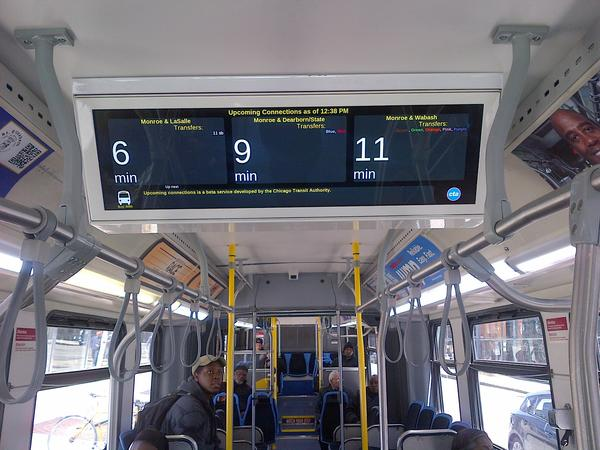 New on-board CTA Bus Tracker screens are coming to the No. J14 Jeffery Jump buses.
