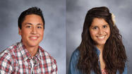 Joliet West High School seniors Guillermo Grimaldo and Jessica Zambrano recently received full tuition scholarships to Brown University in Providence, RI.