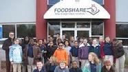 Bloomfield-based Foodshare is partnering with Farmer's Cow and the Dave Matthews Band to raise awareness about hunger and help provide food to needy people.