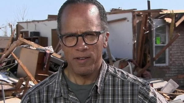 In this NBC video clip posted on NBC news' website, Lester Holt reports from Moore, Okla.