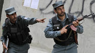 KABUL, Afghanistan -- Taliban gunmen launched a coordinated attack on an international aid group's guesthouse in an upscale Kabul neighborhood Friday, setting off a furious firefight that lasted several hours and renewing fears of the insurgents' ability to strike virtually at will in the heart of the capital.