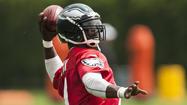 Michael Vick is big on second chances: He served a prison sentence for participating in a dog-fighting ring and then returning to the NFL as the Eagles quarterback.
