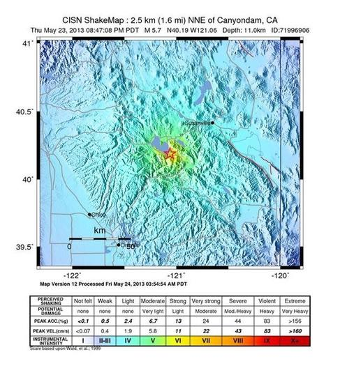 5.7 earthquake largest to hit California since 2008