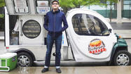 Bridgeport Pasty's electric food truck has energy to burn