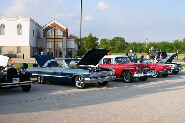 Lemont Car Club's first Saturday cruise of the season on May 18. The Lemont Classic Car Club holds cruise nights every Monday from 6 to 9 p.m. at Lemon Tree Casual Dining, 1035 State St. in Lemont, and Saturdays from 6 to 9 p.m. through August and 5 to 8 p.m. in September at Christ Community Church, 13400 S. Bell Road in Lemont.