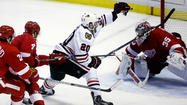 Video: Blackhawks started, couldn't finish Game 4