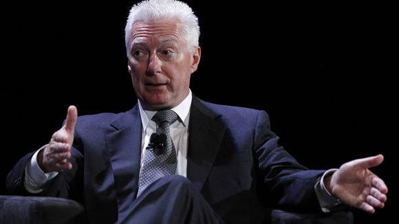 A.G. Lafley speaks during the World Business Forum in New York in this October 6, 2010, file photo.