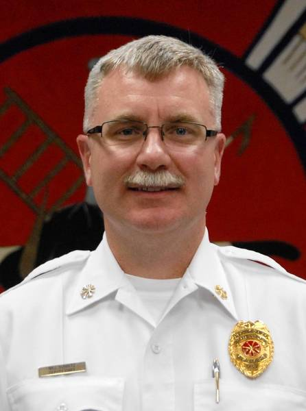 Bill Schultz will take over as Wheaton's fire chief on June 3.