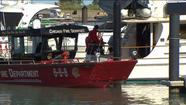 Burnham Harbor boat fire leads to arrest